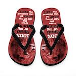 Husband Leader Footwear (Red) Flip Flops