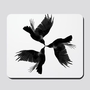 Crow Tessellation Mousepad