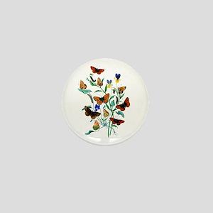 Butterflies of Summer Mini Button