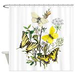 Butterflies of Summer Shower Curtain
