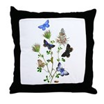 Butterflies of Summer Throw Pillow