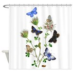 Butterflies of Summer Shower Curtain