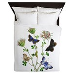 Butterflies of Summer Queen Duvet