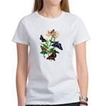 Butterflies and Honeysuckle Women's T-Shirt