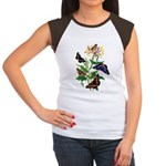 Butterflies and Honeysu Women's Cap Sleeve T-Shirt