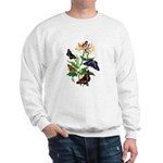 Butterflies and Honeysuckle Sweatshirt