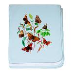 Butterflies of Summer baby blanket