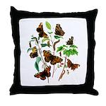 Butterflies of Summer Throw Pillow