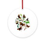 Butterflies of Summer Ornament (Round)