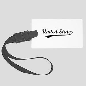United States Large Luggage Tag