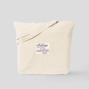 Gandhi Inspiration Tote Bag