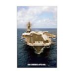 USS AMERICA Mini Poster Print