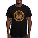 USS AMERICA Men's Fitted T-Shirt (dark)