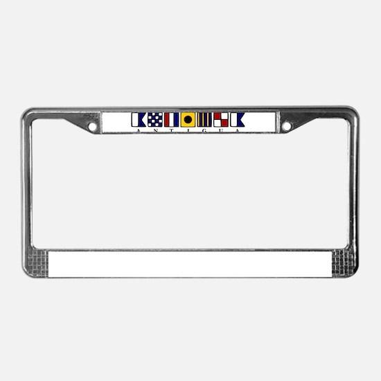Antigua License Plate Frame