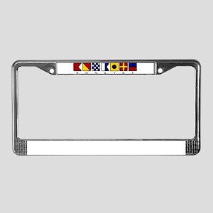 Bonaire License Plate Frame