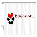 Dogananda logo Shower Curtain