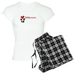 Dogananda logo Women's Light Pajamas