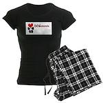 Dogananda logo Women's Dark Pajamas