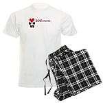 Dogananda logo Men's Light Pajamas