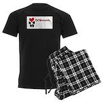Dogananda logo Men's Dark Pajamas