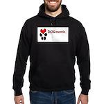 Dogananda logo Hoodie (dark)