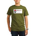 Dogananda logo Organic Men's T-Shirt (dark)