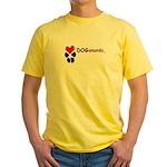 Dogananda logo Yellow T-Shirt