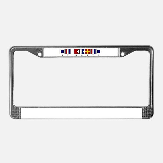 St. Barts License Plate Frame