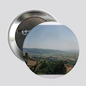 "Tuscan Hills and Mountains 2.25"" Button"