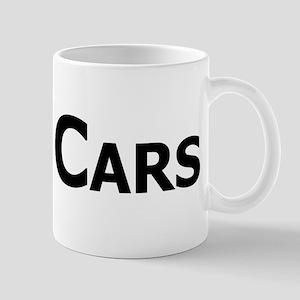 Real Cars text Mug