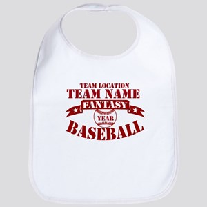 Your Team Fantasy Baseball Red Bib