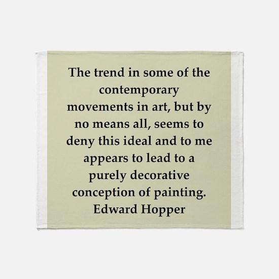 hopper12.png Throw Blanket