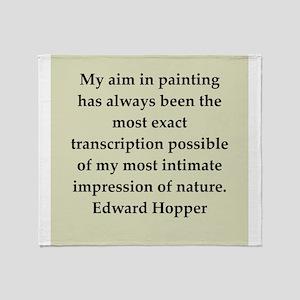 hopper9 Throw Blanket