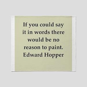 hopper5 Throw Blanket