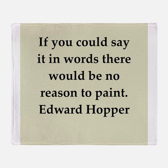 hopper5.png Throw Blanket