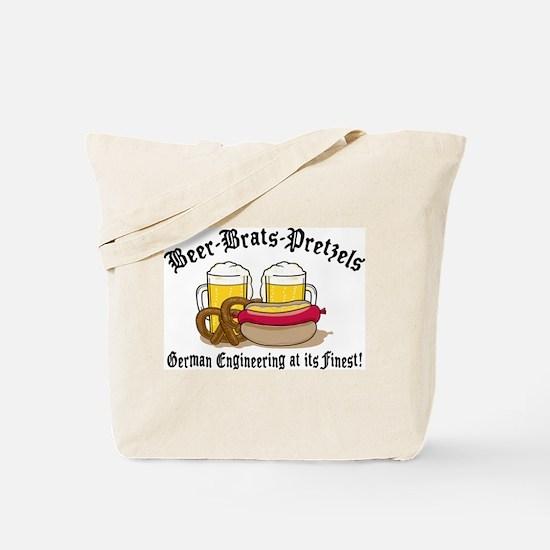 Funny German Tote Bag