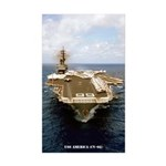 USS AMERICA Sticker (Rectangle 10 pk)