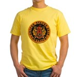 USS AMERICA Yellow T-Shirt