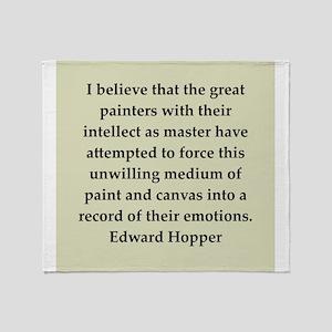 hopper2 Throw Blanket
