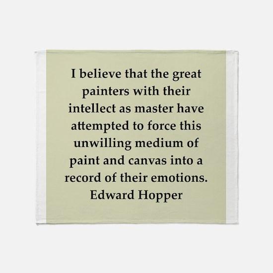 hopper2.png Throw Blanket