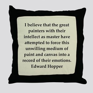 hopper2 Throw Pillow