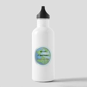 Eat Like It Matters Stainless Water Bottle 1.0L