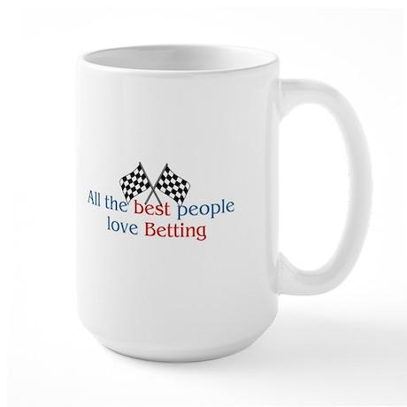 Betting Large Mug