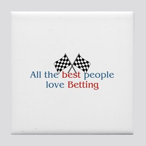 Betting Tile Coaster