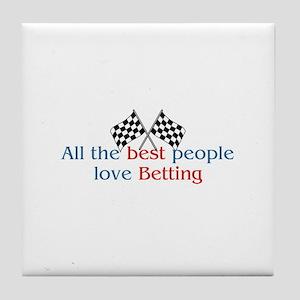Betting Tile Coaster