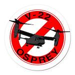 OSPREY2 Round Car Magnet