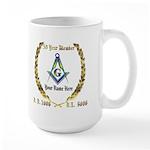 Masonic Award Large Mug