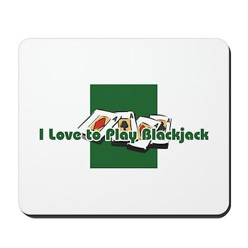 Blackjack Mousepad