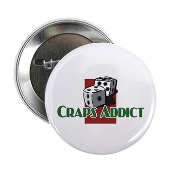 "Craps 2.25"" Button (10 pack)"