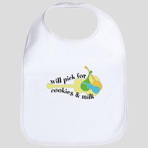 cookies and milk Bluegrass Bib
